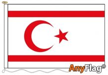 -CYPRUS NORTH  ANYFLAG RANGE - VARIOUS SIZES
